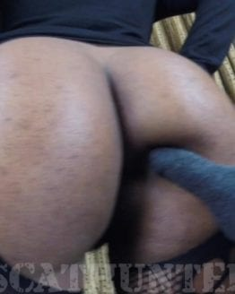 ebony scat fetish